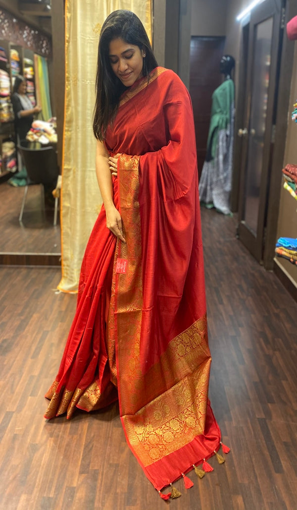 Chanderi saree 13797