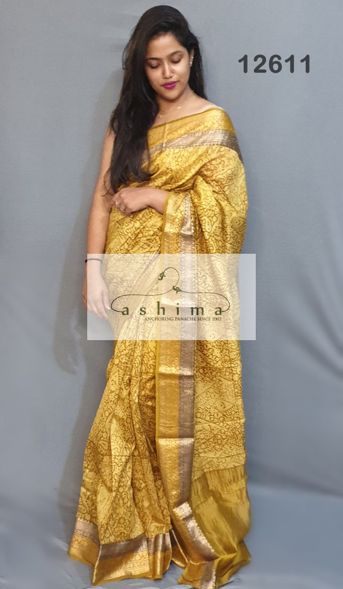 Chanderi saree 12611