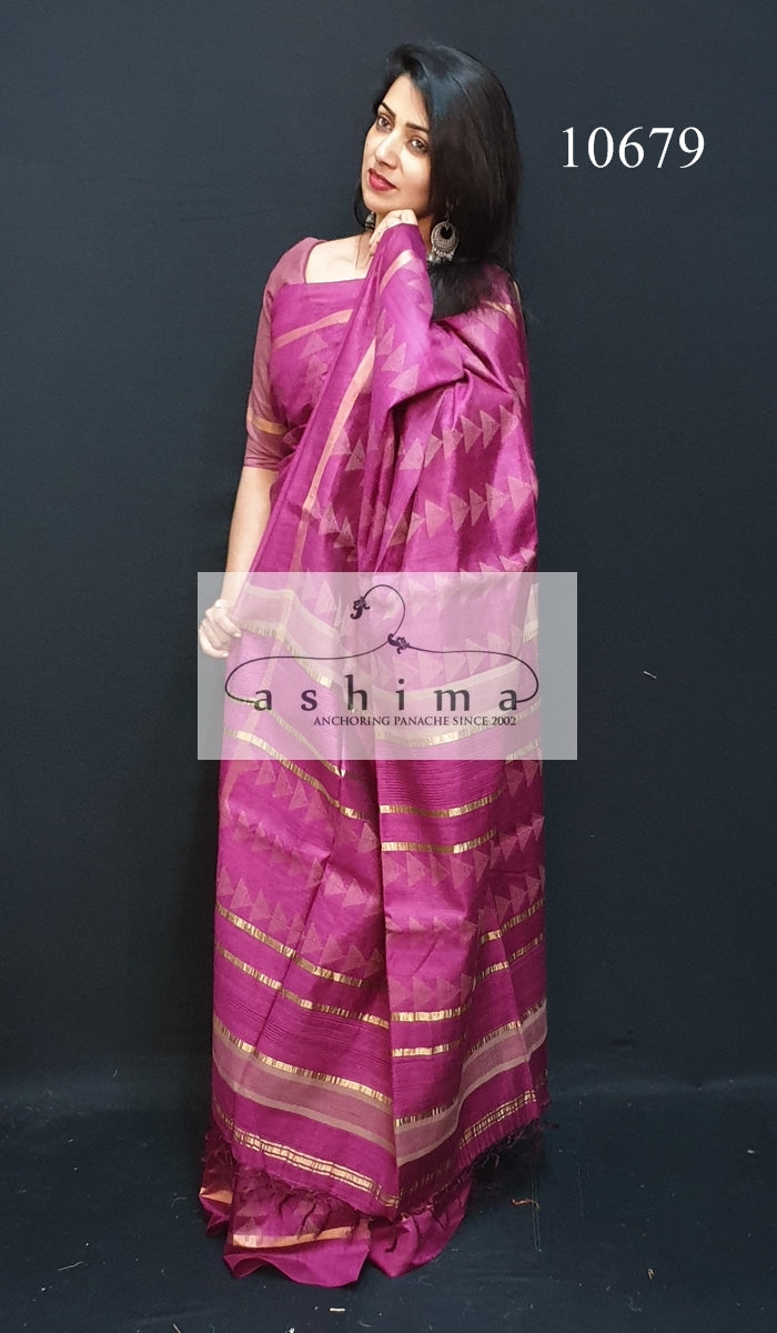 Tussar silk saree 10679