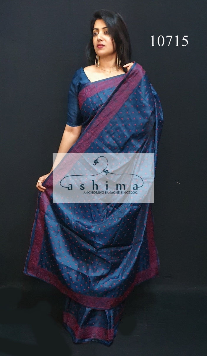 Semi silk saree 10715
