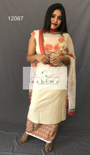 Unstitched salwar suit 12087