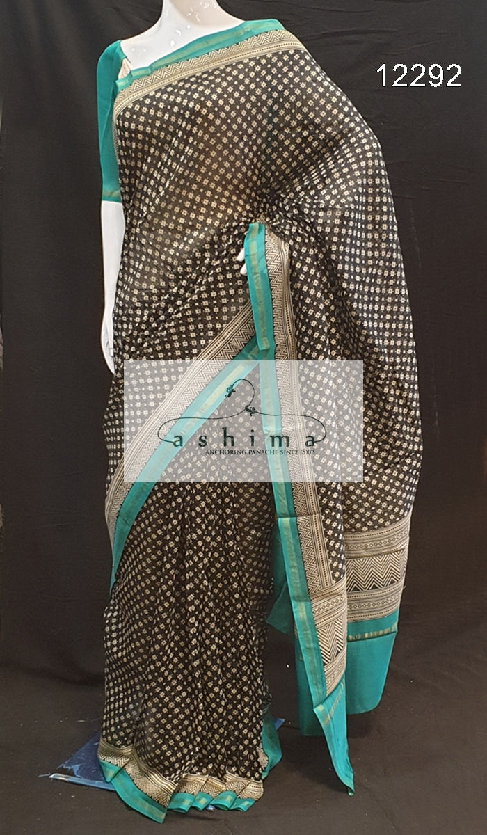 Chanderi saree 12292