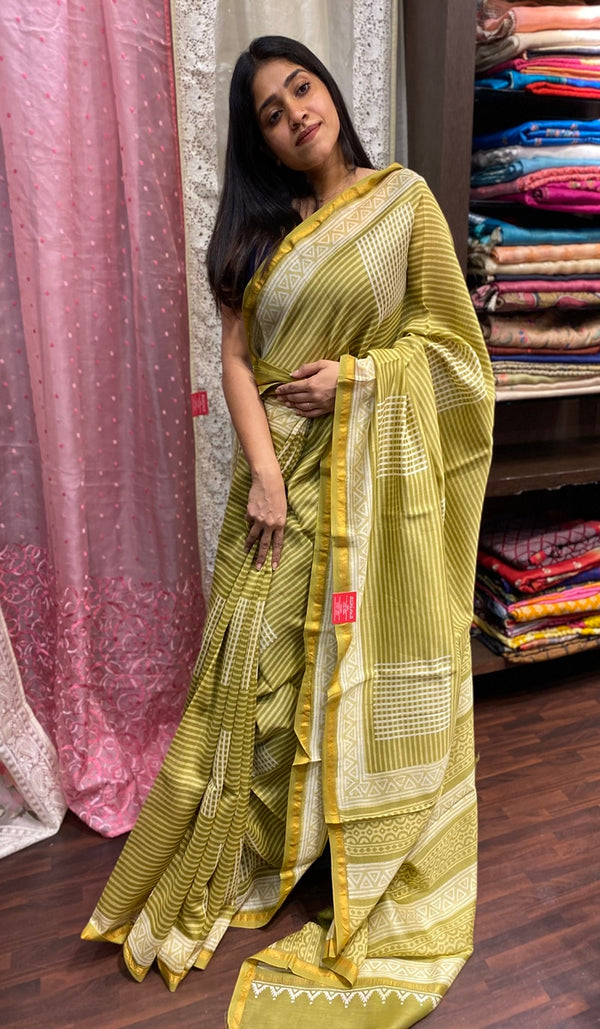 Chanderi saree 14269