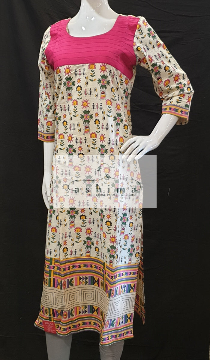 Cotton Kurti - Medium - Kurti 35