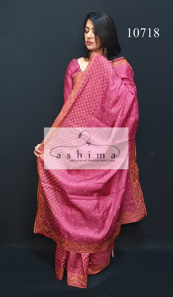 Semi silk saree 10718