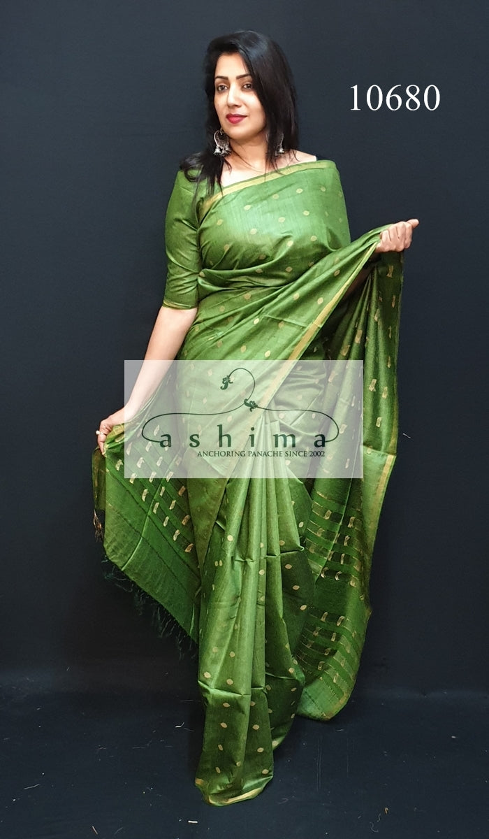 Tussar silk saree 10680