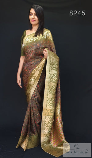Chiniya Silk Saree 8245