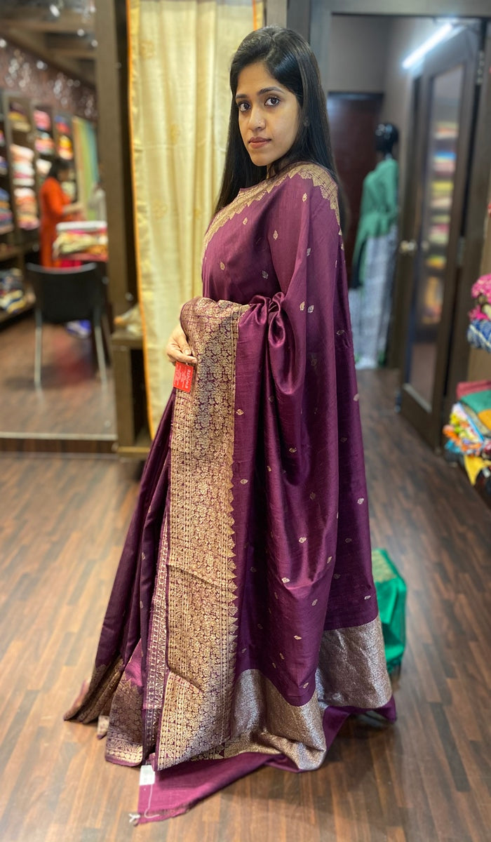 Banarasi raw silk saree 13752