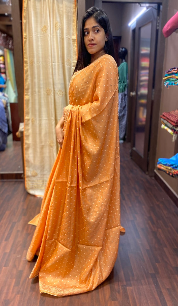 Semi silk saree 13692