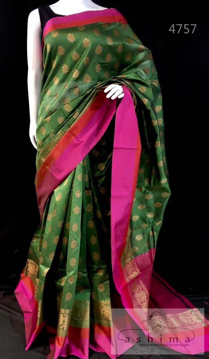 Semi Banarasi Saree 4757