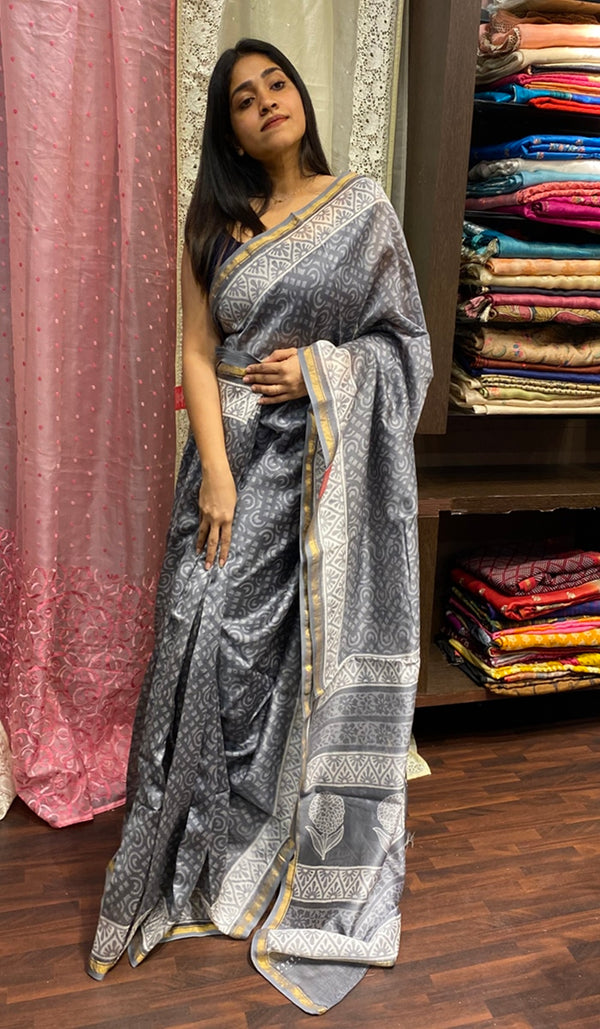 Chanderi saree 14268