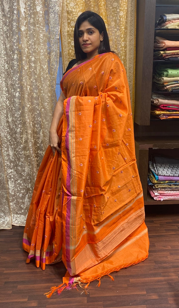 Chanderi saree 13912
