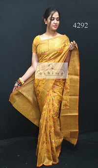 Semi Banarasi Saree 4292