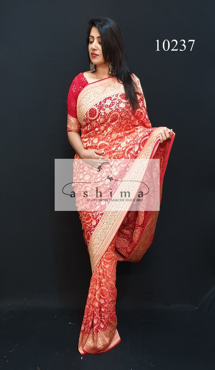 Banarasi Georgette Saree 10237
