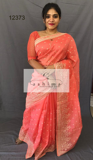 Chanderi saree 12358