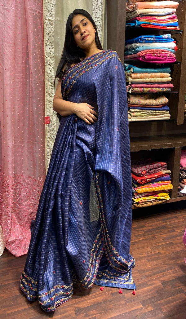 Tussar silk saree 14281