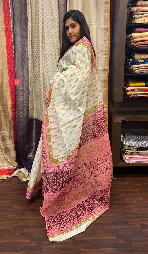 Cotton saree 14515