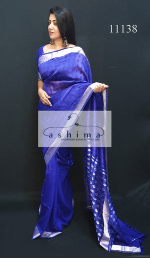 Fancy handloom saree 11138
