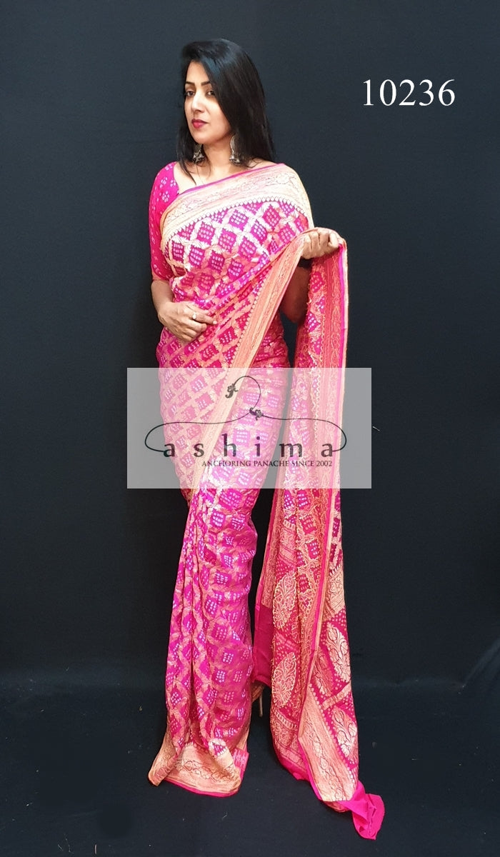 Banarasi Georgette Saree 10236