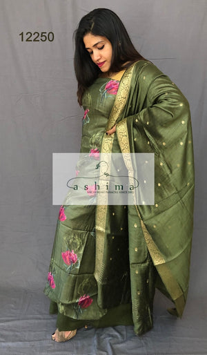 Unstitched salwar suit 12250