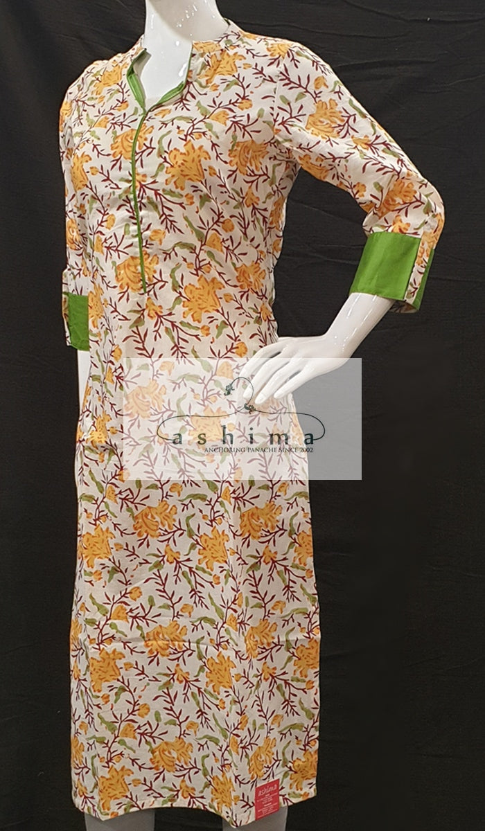 Cotton Kurti - Medium - Kurti 38