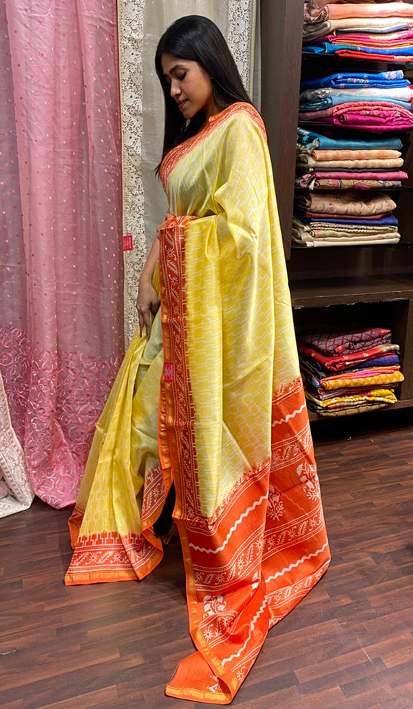 Chanderi saree 14259