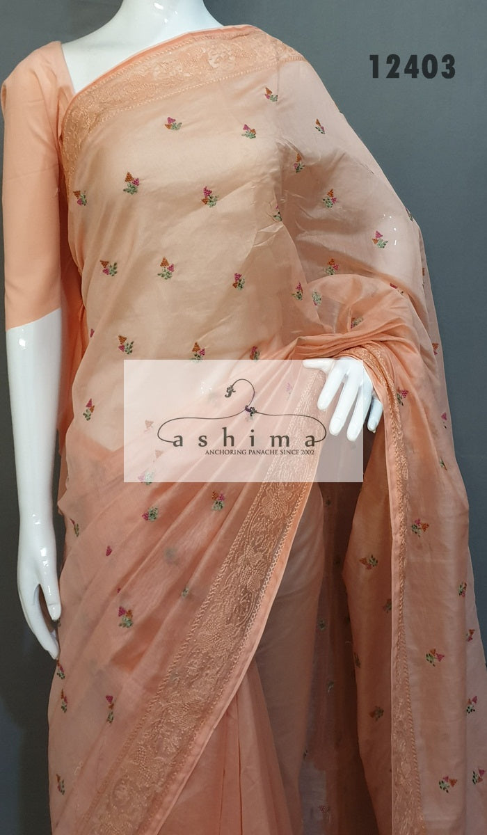 Chanderi Saree 12403