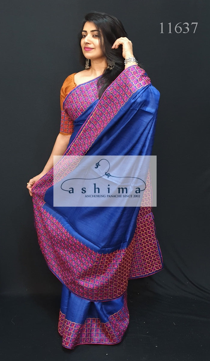 Tussar Silk Saree 11637