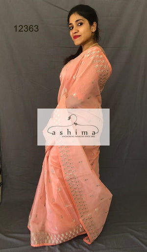 Chanderi saree  12363