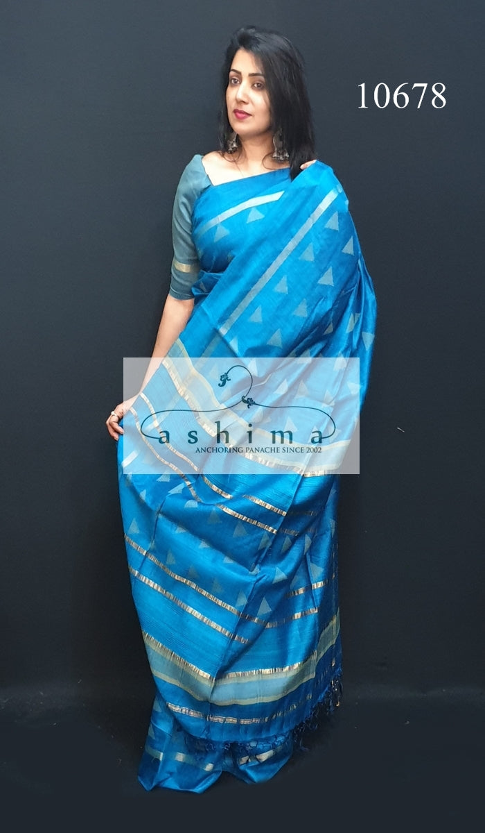 Tussar silk saree 10678