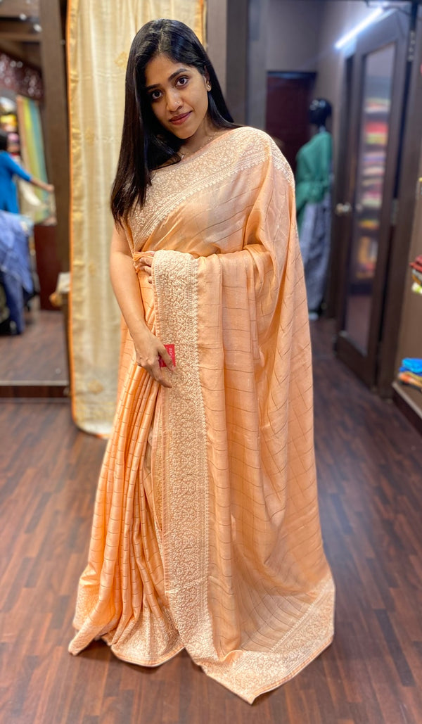 Semi silk saree 13698