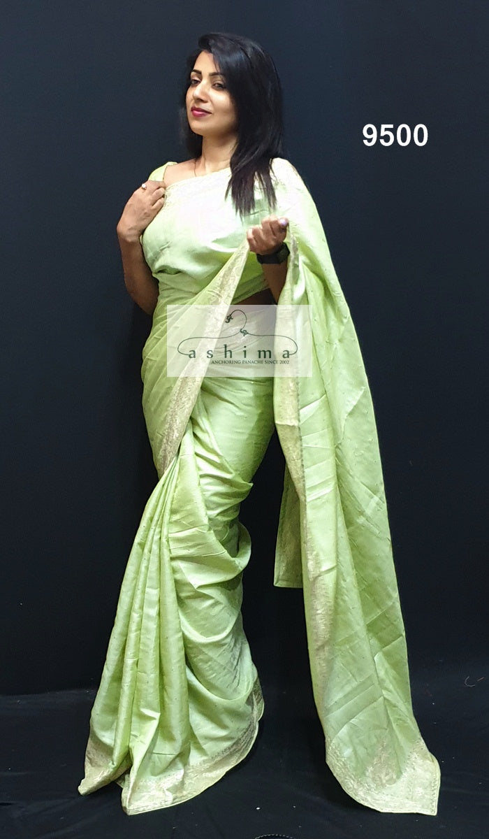 Tussar Silk Saree 9500