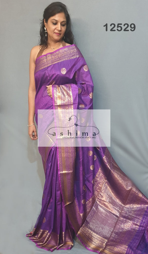 Banarasi silk saree 12529