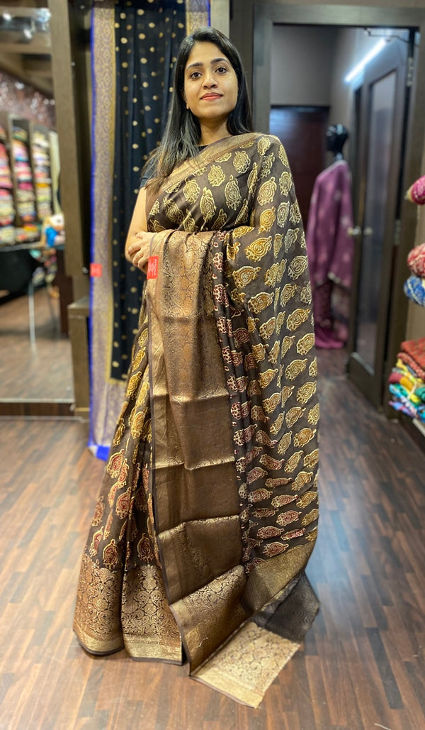 Chanderi saree 13487