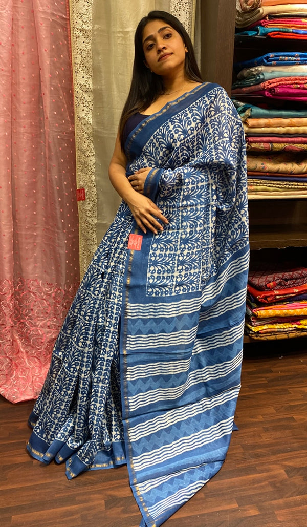 Chanderi saree 14255