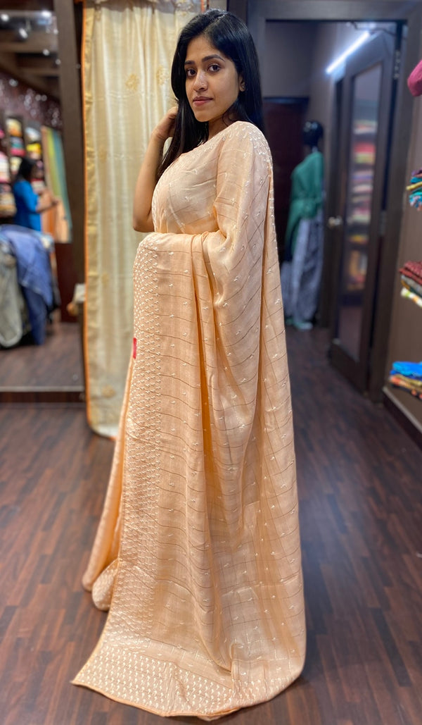 Semi silk saree 13702