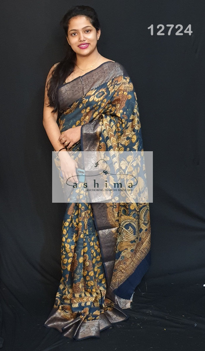 Chanderi Saree 12724