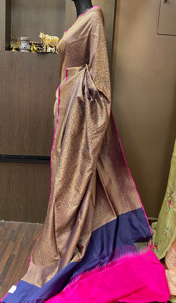 Soft silk saree 13081