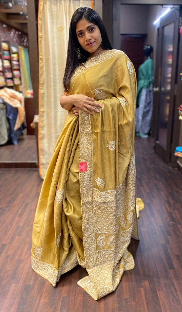 Semi silk saree 13688