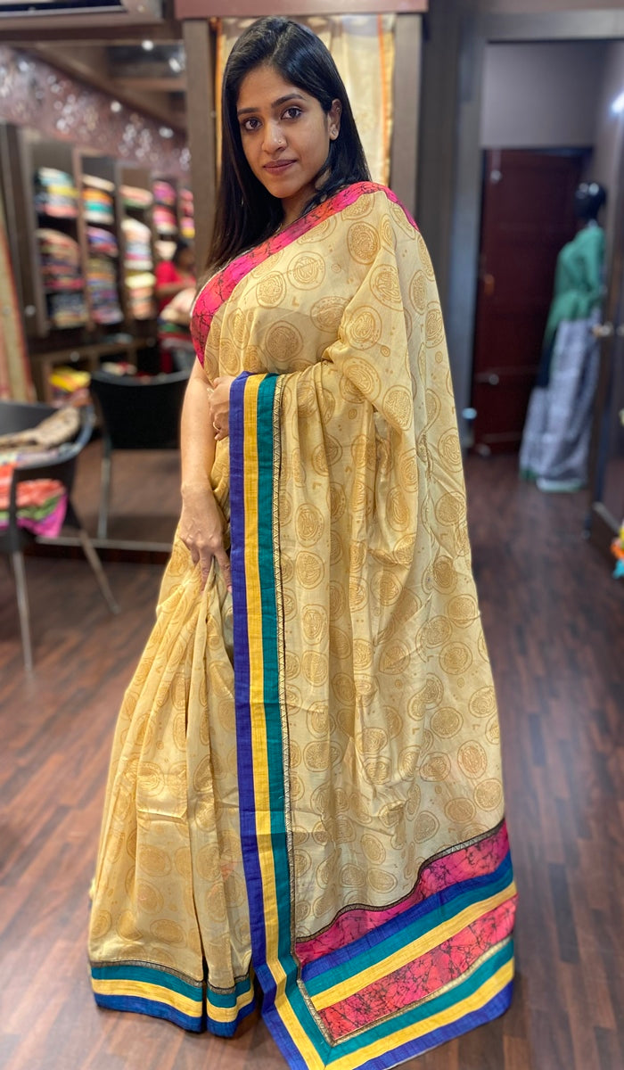 Soft silk saree CA40