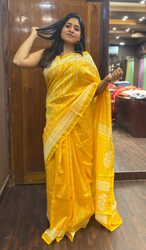 Chanderi saree 14263