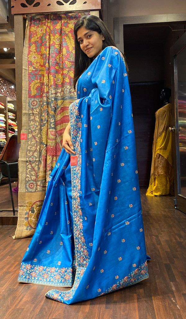 Tussar silk saree 13922