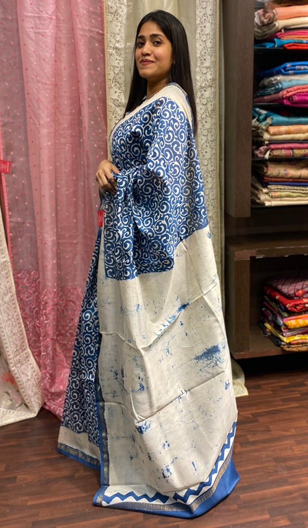 Chanderi saree 14271