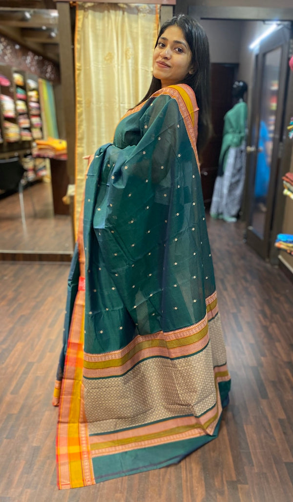 Kanji cotton saree 13662