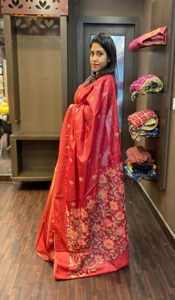 Tussar silk saree 13556