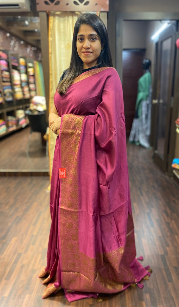 Chanderi saree 13796