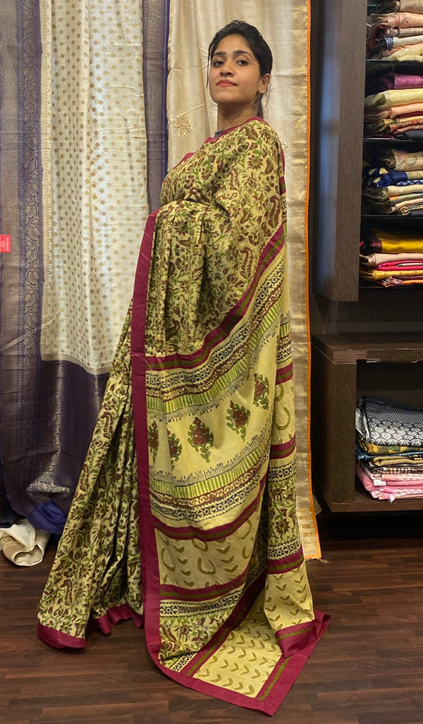 Cotton saree 14476