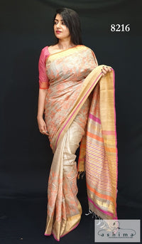 Tussar Silk saree 8216