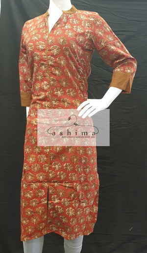 Cotton Kurti - Medium- Kurti 44