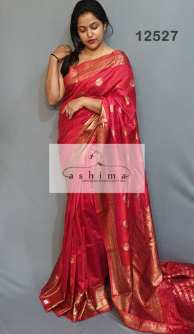 Banarasi silk saree 12527